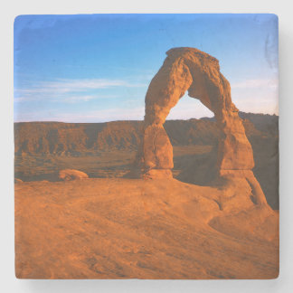 USA, Utah, Arches National Park, Delicate Arch Stone Coaster