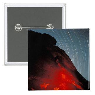 USA, Utah, Arches National Park, Petroglyphs 15 Cm Square Badge