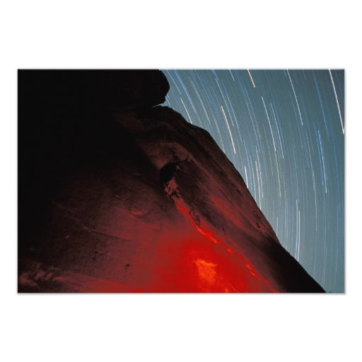 USA, Utah, Arches National Park, Petroglyphs Photographic Print