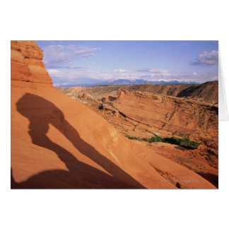 USA,Utah,Arches National Park, shadow of Card