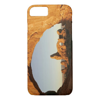 USA, Utah, Arches National Park. Turret arch iPhone 7 Case