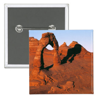 USA, Utah, Arches NP. Delicate Arch is one of 15 Cm Square Badge