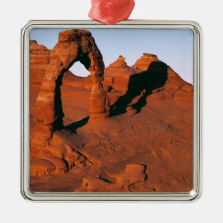 USA, Utah, Arches NP. Delicate Arch is one of Christmas Ornament
