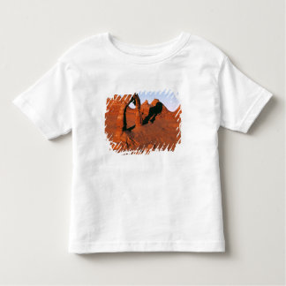 USA, Utah, Arches NP. Delicate Arch is one of Toddler T-Shirt
