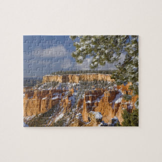 USA, Utah, Bryce Canyon National Park. Sunrise Jigsaw Puzzle