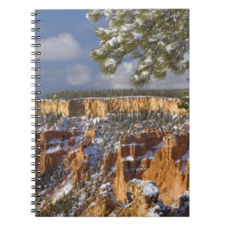 USA, Utah, Bryce Canyon National Park. Sunrise Notebook