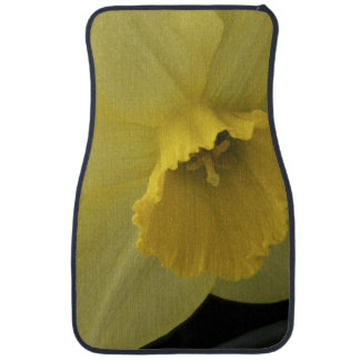 USA, Utah, Cache Valley Daffodils Car Mat
