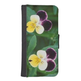 USA, Utah, Cache Valley, Johnny Jump Up iPhone SE/5/5s Wallet Case