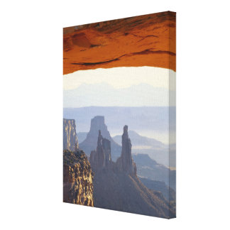 USA, Utah, Canyonlands National Park, View of Canvas Print