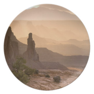 USA; Utah; Canyonlands National Park. View of Dinner Plates