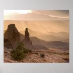 USA; Utah; Canyonlands National Park. View of Poster