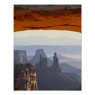 USA, Utah, Canyonlands National Park, View of Poster