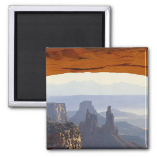 USA, Utah, Canyonlands National Park, View of Square Magnet