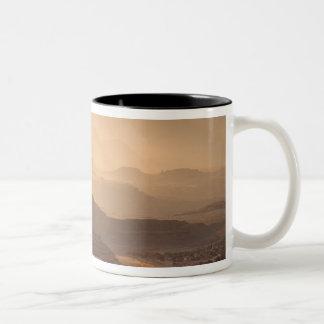 USA; Utah; Canyonlands National Park. View of Two-Tone Coffee Mug