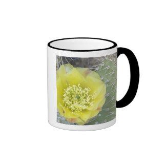 USA, Utah, Canyonlands, NP, Desert Prickly Pear Coffee Mugs