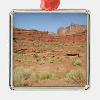USA, Utah, Canyonlands NP, Shafer Canyon Christmas Ornament