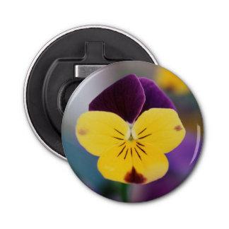 USA, Utah, Close-Up of Viola tricolor in garden Bottle Opener