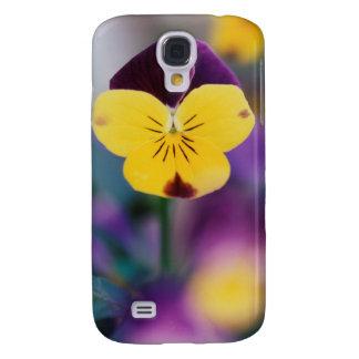 USA, Utah, Close-Up of Viola tricolor in garden Galaxy S4 Case