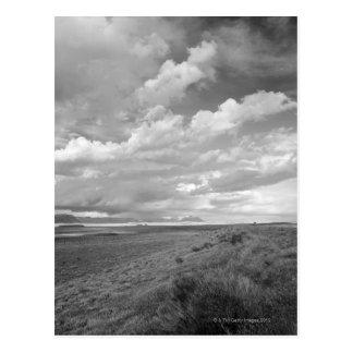USA, Utah, Clouds over landscape Postcard