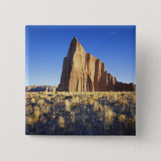 USA, Utah, Colorado Plateau, Lower Cathedral 15 Cm Square Badge