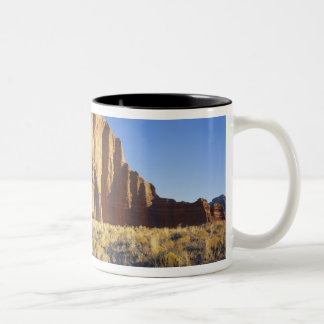 USA, Utah, Colorado Plateau, Lower Cathedral Two-Tone Coffee Mug