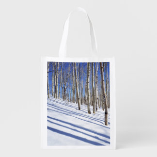 USA, Utah, Dixie National Forest, Aspen Grove Reusable Grocery Bag