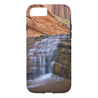 USA, Utah, Escalante Wilderness.  Waterfall in iPhone 8/7 Case