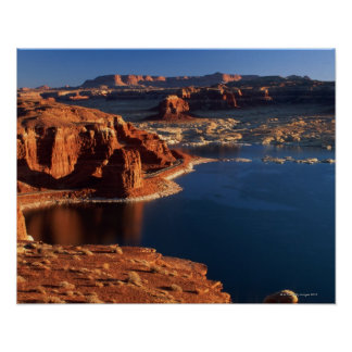 USA, Utah, Glen Canyon National Recreation Area 2 Poster