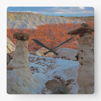 USA, Utah, Grand Staircase Escalante-National 2 Square Wall Clock