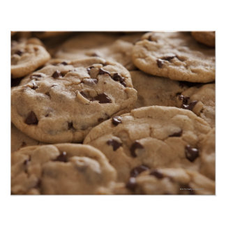 USA, Utah, Lehi, Chocolate cookies Poster