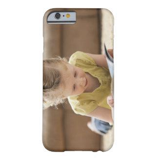 USA, Utah, Lehi, Girl (2-3) lying on rug, Barely There iPhone 6 Case