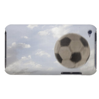 USA, Utah, Lehi, Soccer ball against sky Barely There iPod Case