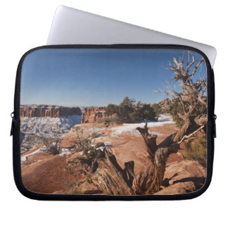 USA, Utah, Moab. Canyonlands National Park, Laptop Sleeve