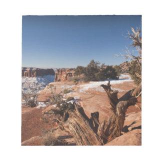 USA, Utah, Moab. Canyonlands National Park, Notepad