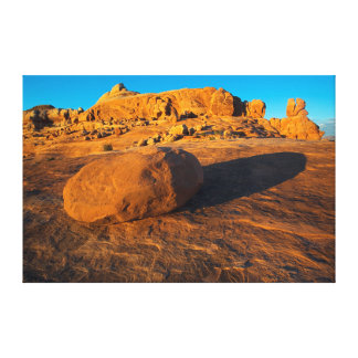 USA, Utah, Moab, Sandstone Stretched Canvas Prints