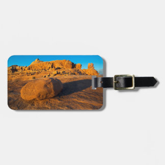 USA, Utah, Moab, Sandstone Bag Tags