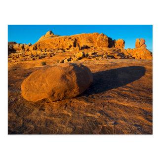 USA, Utah, Moab, Sandstone Postcard