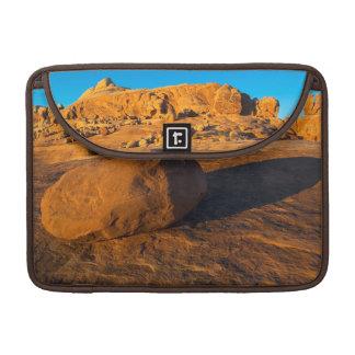 USA, Utah, Moab, Sandstone Sleeves For MacBook Pro