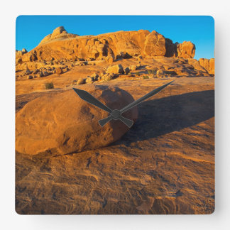 USA, Utah, Moab, Sandstone Wall Clocks