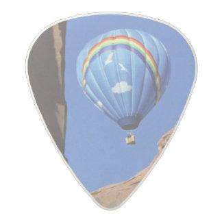 USA, Utah, Monument Valley. A rainbow hot-air Acetal Guitar Pick