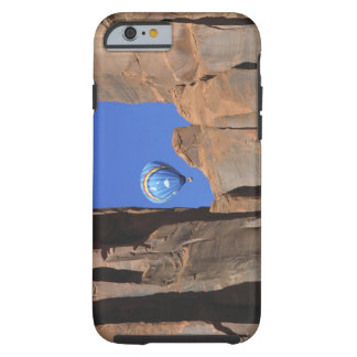 USA, Utah, Monument Valley. A rainbow hot-air Tough iPhone 6 Case