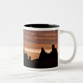 USA, Utah, Monument Valley National Park. 2 Two-Tone Coffee Mug
