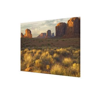 USA, Utah, Monument Valley National Park. Canvas Print