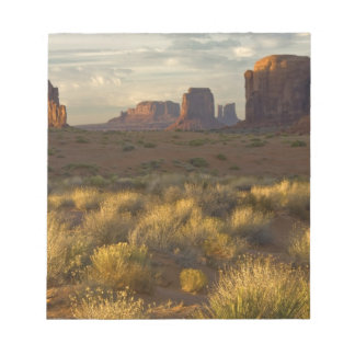 USA, Utah, Monument Valley National Park. Notepad
