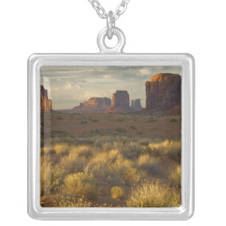 USA, Utah, Monument Valley National Park. Silver Plated Necklace
