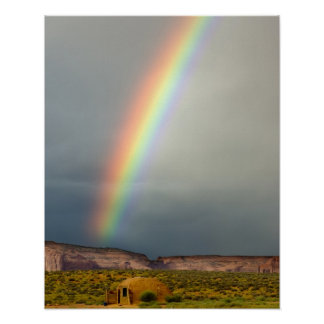 USA, Utah, Monument Valley Navajo Tribal Park. 2 Poster