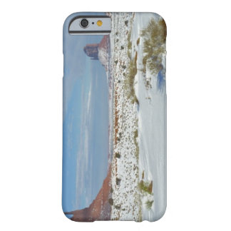 USA, Utah, Monument Valley. Sagebrush shows Barely There iPhone 6 Case