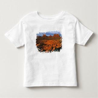 USA, Utah, Monument Valley. Sunset light Toddler T-Shirt