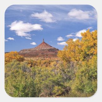 USA, Utah, near Canyonlands National Park on Square Sticker