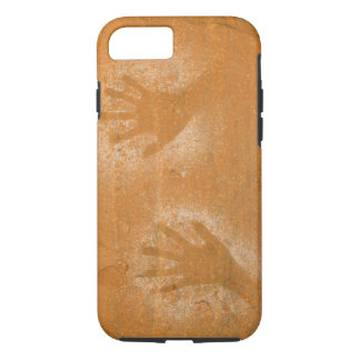 USA, Utah, Pictograph Hand-prints on sandstone, iPhone 8/7 Case